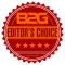 B2G Editor's Choice Award