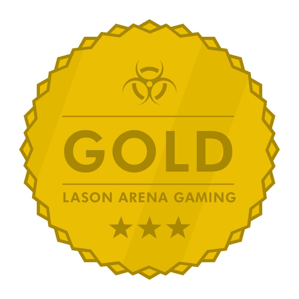 Lason Arena Gaming Gold Award